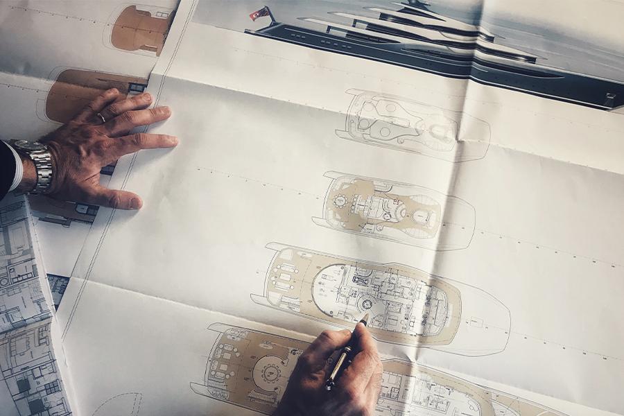 Project's design & engineering development - Project Management - New Build - Nicola Nicolai